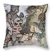 Harris: Uncle Remus, 1917 Throw Pillow