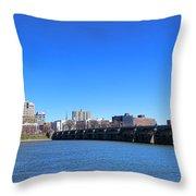 Harrisburg Skyline Throw Pillow