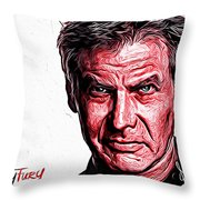 Harrison Ford Throw Pillow