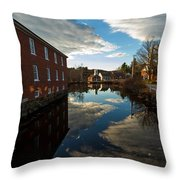 Harrisville New Hampshire Throw Pillow