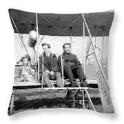 Harry B. Brown (1883-1954) Throw Pillow