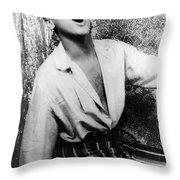 Harry Belafonte (1927- ) Throw Pillow