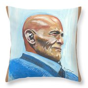Harry Belafonte Throw Pillow