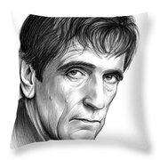 Harry Dean Stanton Throw Pillow