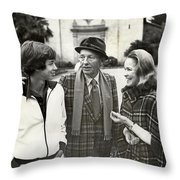 Harry Jr, 16 Harry Lillis Bing  And Wife Kathy Throw Pillow