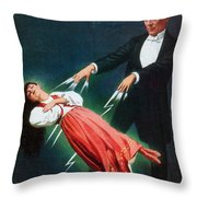 Harry Kellar (1849-1922) Throw Pillow
