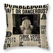 Harry Potter And The Half-blood Prince 2009 Throw Pillow
