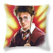 Harry Potter The Wizard Throw Pillow
