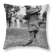 Harry Vardon Throw Pillow