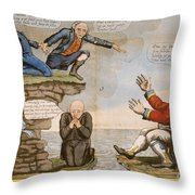 Hartford Convention, C1814 Throw Pillow