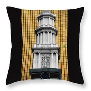 Hartford Gold Two Throw Pillow