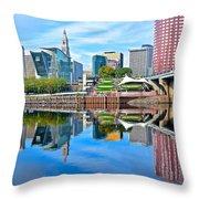 Hartford Reflects Throw Pillow