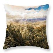 Hartz Mountains To Wellington Range Throw Pillow