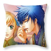 Harukanaru Toki No Naka De Throw Pillow