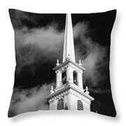 Harvard Memorial Church Steeple Throw Pillow