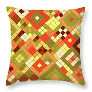 Harvest Gold Throw Pillow