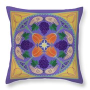 Harvest Grail Throw Pillow
