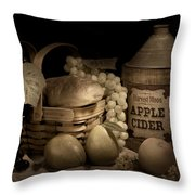 Harvest Moon Throw Pillow by Tom Mc Nemar