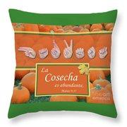 Harvest Spanish Throw Pillow