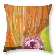 Harvest Still Life Throw Pillow
