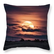 Harvestmoon Throw Pillow
