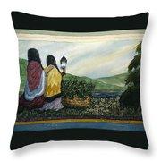 Harvest Blessing Throw Pillow