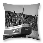 Hastings Boat 4 Throw Pillow