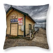 Hastings Jetty Throw Pillow