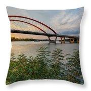 Hastings Mn Bridge Throw Pillow