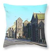 Hastings Net Lofts Throw Pillow