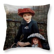 Hat Sense Throw Pillow