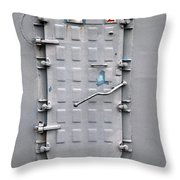 Hatch Secured Throw Pillow