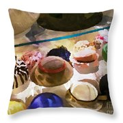 Hats In A Row Throw Pillow