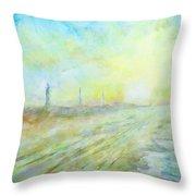 Hatteras Lighthouse Throw Pillow