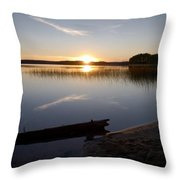 Haukkajarvi Evening Throw Pillow