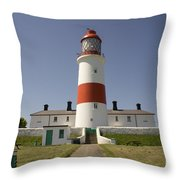 Haunted Lighthouse. Throw Pillow