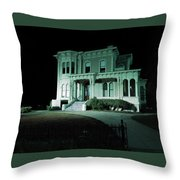 Haunted Merit Throw Pillow