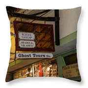 Haunted St. Augustine Throw Pillow