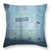 Haunting House Throw Pillow