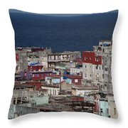 Havana, Cuba Throw Pillow