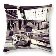 Havana Cuba Taxi Throw Pillow