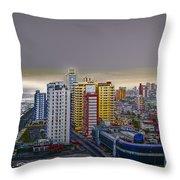 Havana Dawn Throw Pillow