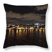 Havana Nights Throw Pillow