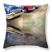 Havana Row Throw Pillow