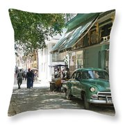 Havana Streets 1 Throw Pillow