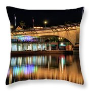 Havasu At Night Throw Pillow