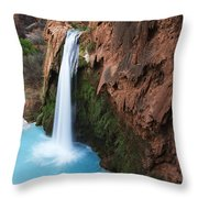 Havasu Falls Grand Canyon 1 Throw Pillow