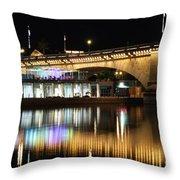 Havasu Nights Throw Pillow