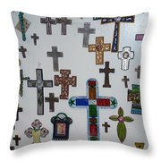 Have A Little Faith Throw Pillow