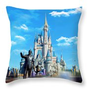 Have A Magical Day Throw Pillow